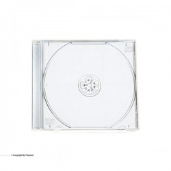 قاب سی دی پهن شفاف ( jewel )