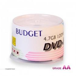دی وی دی باجت قرمز باکس دار 50 عددی (BUDGET)