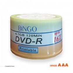 دی وی دی پرینتیبل بینگو باکس 50 عددی (BINGO)
