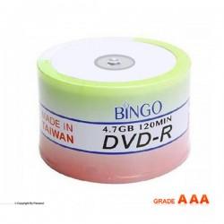 دی وی دی خام بینگو باکس دار 50 عددی (BINGO)