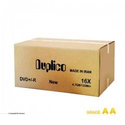 دی وی دی پرینتیبل داپلیکو کارتن 600 عددی (Duplico)