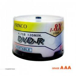 دی وی دی پرینکو پرینتیبل باکس دار 50 عددی ( PRINCO )