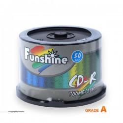 سی دی خام باکسدار 50 عددی فانشاین (Funshine)