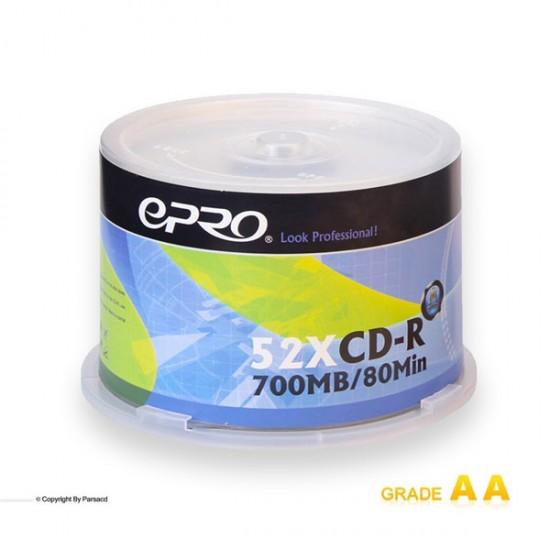 سی دی خام اپرو باکس دار 50 عددی (Epro)