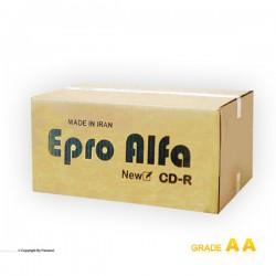 سی دی خام اپرو باکس دار کارتن 600 عددی(EPRO)