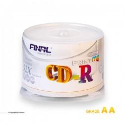 سی دی خام پرینتیبل فینال باکس دار 50 عددی( FINAL)
