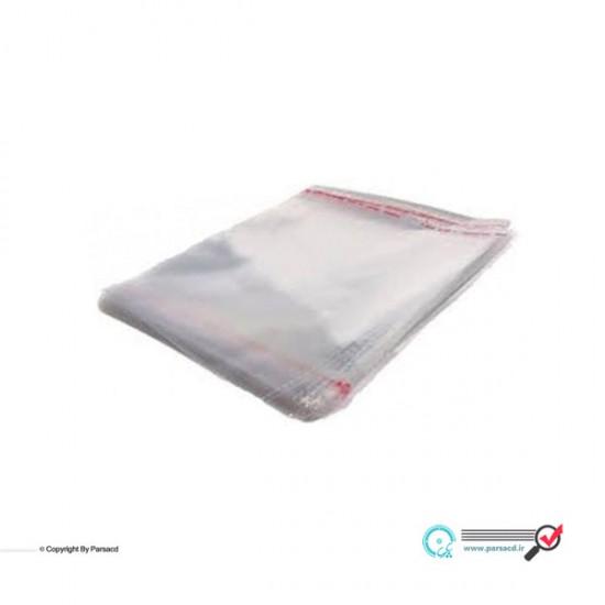 سلفون سی دی شفاف و لبه چسب دار